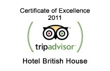 TripAdvisor - Certificate of Excellence 2011